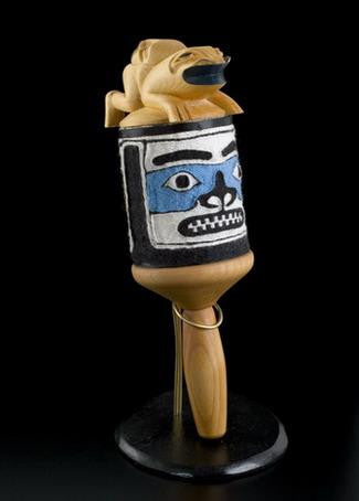 2. Chilkat Human Frog Rattle