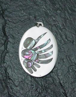 Hummingbird Pendant (Double-Sided)