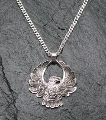 Eagle Pendant and Chain