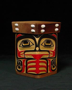 Eagle and Bear Bentwood Box