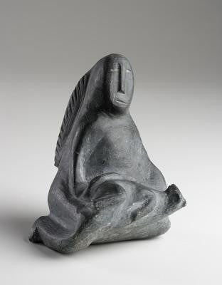 30. Woman with Dog, 1970-72