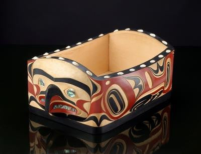 7. Raven and Moon Bentwood Bowl