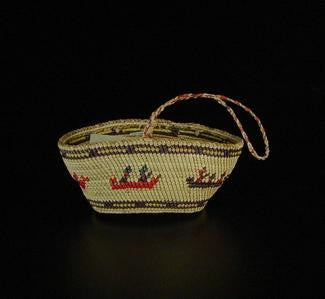 Basket with Handle, Circa 1978
