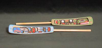15. Thunderbird & Whale Soapberry Spoons