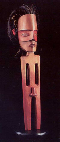 25. SPIRIT FIGURE RATTLE, 2000