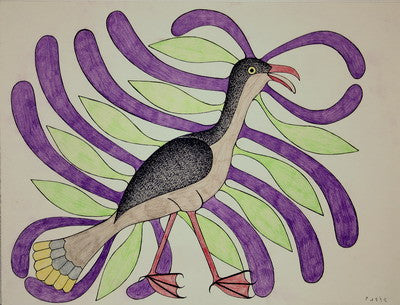 Plumage in Purple and Green, 1988 - 1989