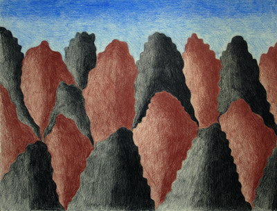Mountainscape, 1989 - 1990