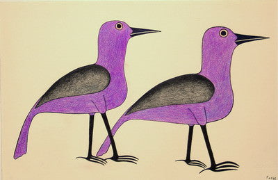 Purple Birds Walk, 1991 - 1992