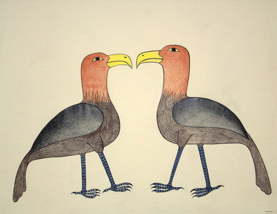 Courting Birds