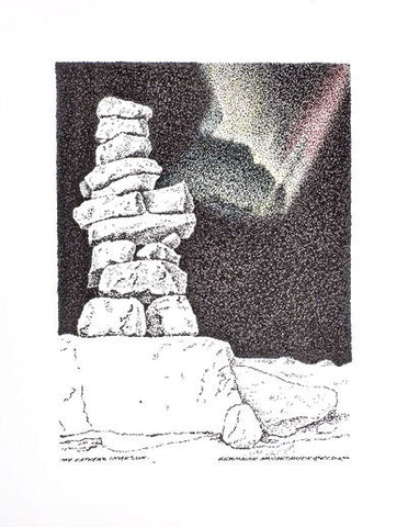 28. MY FATHER'S INUKSHUK II, 2006