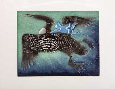 37. THE LOON GIVES LUMAQ HIS SIGHT, 2003