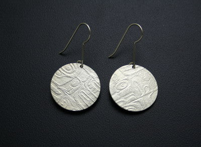 37. INITIATION SERIES ROUND EARRINGS