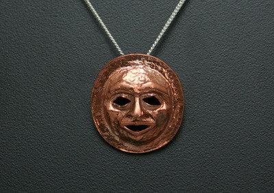 49. MOON MASK PENDANT