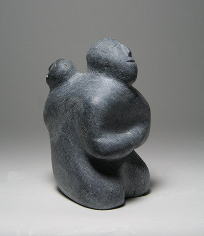 17. SEATED MOTHER & CHILD