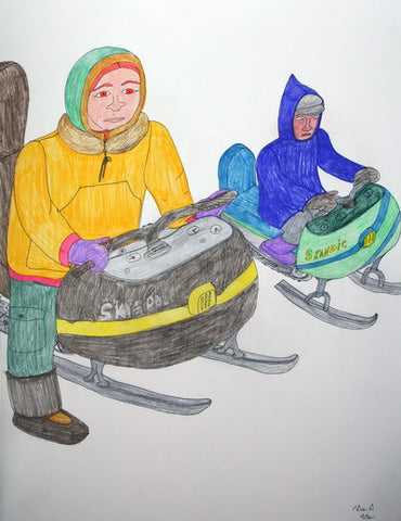 28. UNTITLED (SNOWMOBILE RIVALRY), 2007/2008