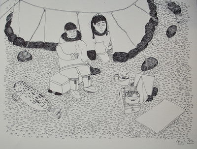 30. Untitled (Cooking at Camp), 2003/2004