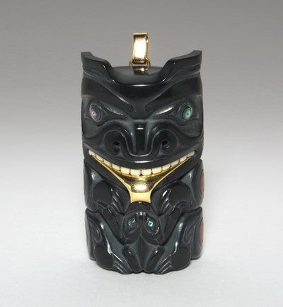 BEAR WITH FROG PENDANT, 2004