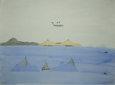 UNTITLED (AIRPLANE, INUKSUIT, UMIAK), 1976/1977