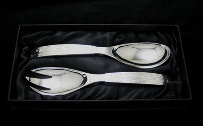 Eagle Whale Serving Set
