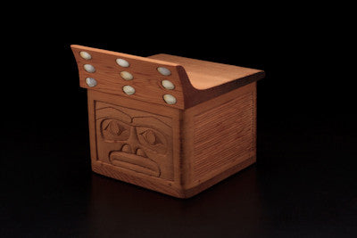 3. Guardian Bentwood Box With Flanged Lid