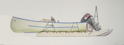 Untitled (Boat On Sled)