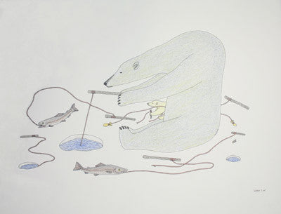 37. Untitled (Bears Fishing)