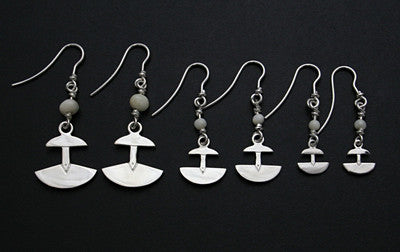 Ulu Earrings (large, medium, small)