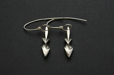 Foxy Lady Earrings (Polished)