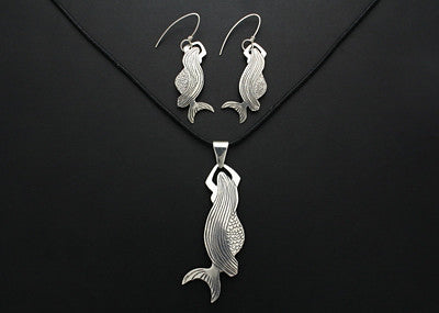 Sedna Earrings and Pendant