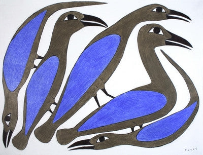 Untitled (Five Birds)