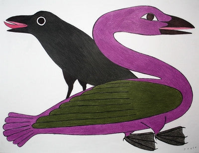 Untitled (Raven And The Goose)
