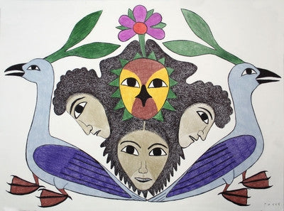 Untitled (Sisters With Birds)