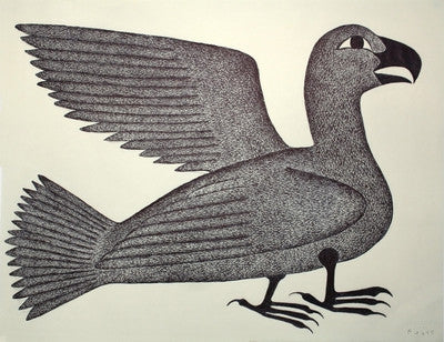 Untitled (Winged Bird)