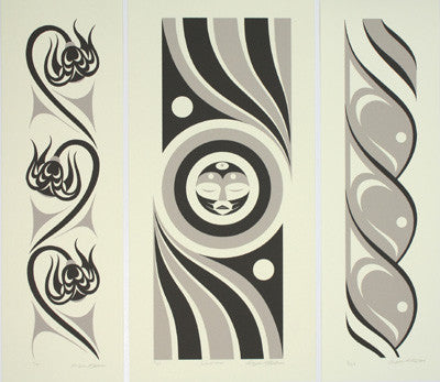 Grandmother (Triptych)