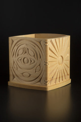 1. Sky Opening Bentwood Box