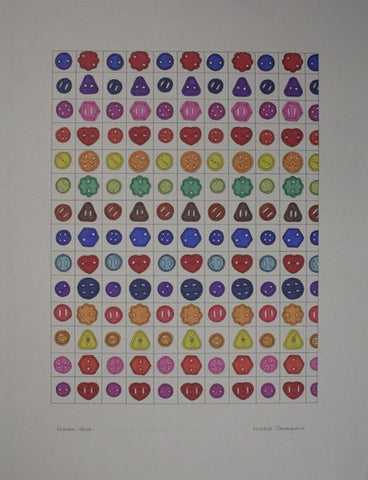 Untitled (Button Pattern)