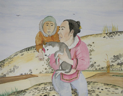 Untitled (Holding The Puppy)
