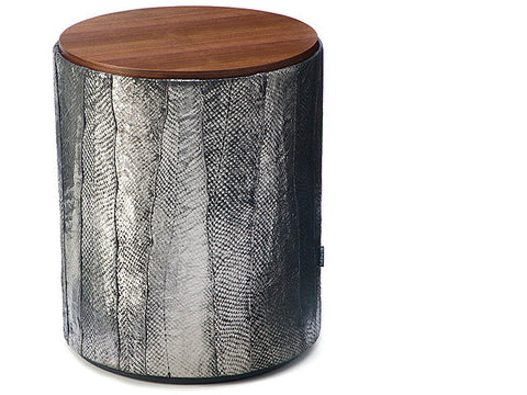 Salmon Drum Table - coho