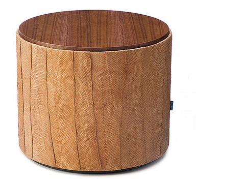 Salmon Drum Table - cedar