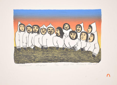 Sikusilameot (PEOPLE From South Baffin) by Pitaloosie Saila