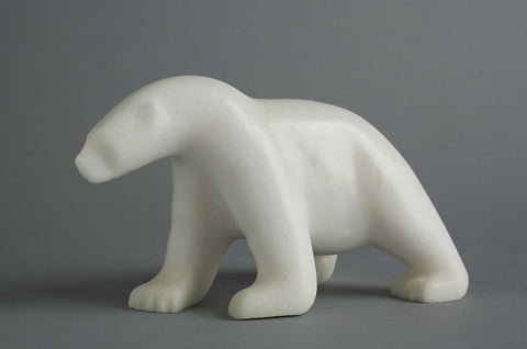 Bear by Ashevak Tunnillie Inuit Artist from Cape Dorset