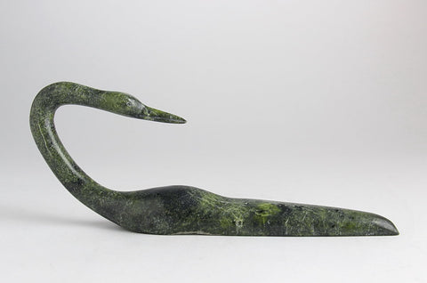 Loon by Ningeosiak Ashoona Inuit Artist from Cape Dorset