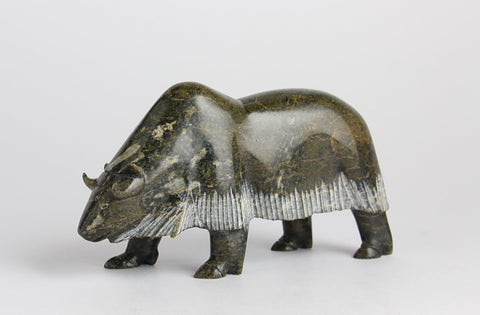Musk Ox by Noah Jaw Inuit Artist from Cape Dorset