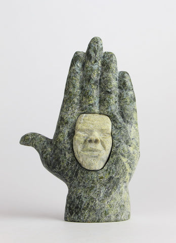 Hand with Face