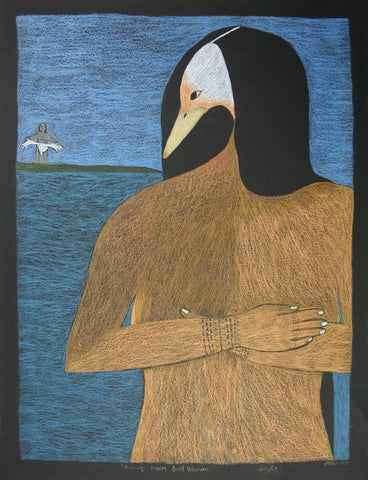 Kiviuq Meets Bird Woman