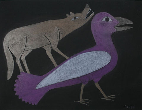 Untitled (Bird and Dog)