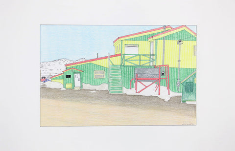 Untitled (Cape Dorset building)