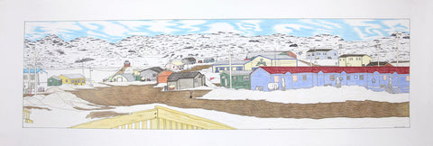 Untitled (View of Cape Dorset)