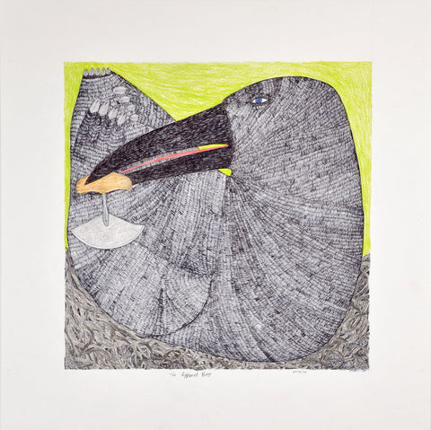 The Approved Nest by Ningiukulu Teevee Inuit Artist from Cape Dorset