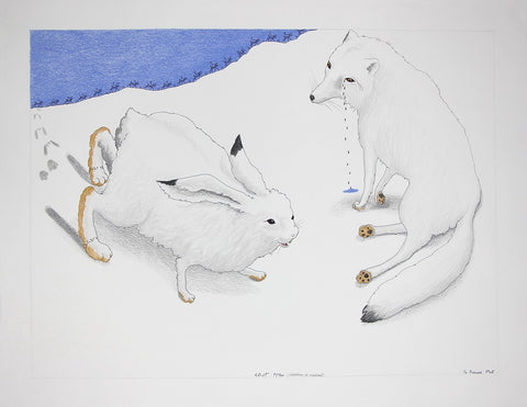Separation of Marriage, Cape Dorset  2016